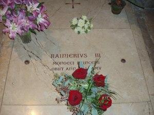 Tomb of Prince Rainier