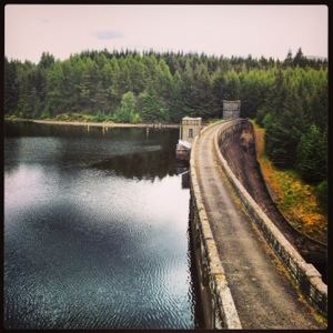 I know this may be a stretch...but I fell in love with this dam in the Scottish Highlands...and this was before I had any Scottish whiskey :) So serene & peaceful!