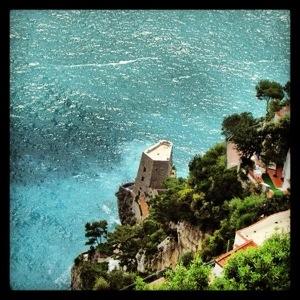 The amazing Amalfi Coast in Positano, Italy!