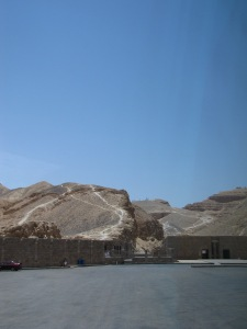 Entrace to the Valley of the Kings