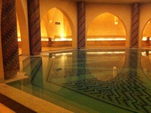 Pool in the hammam