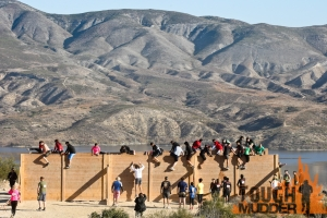 "What?  Why is this wall here?  OMG, I have to climb this? Does this count or is it ""extra""?(source, Tough Mudder)"