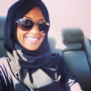 Rocking the abaya in Riyadh, Kingdom of Saudi Arabia